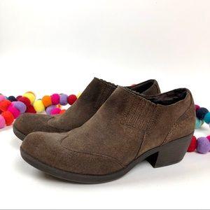Korks By Kork-Ease Kit Brown Western Bootie Shoe